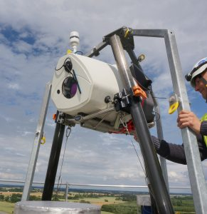 ZephIR DM installed with Vestas