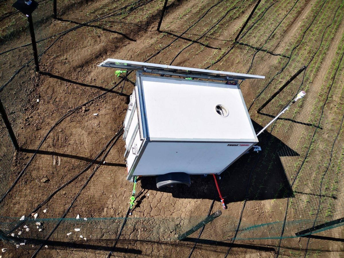 Discreet Lidar window providing safe and secure wind measurements from ground level up to 200 metres and above.